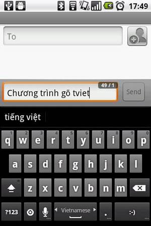GoTiengViet 3 Vietnamese input screenshot 1