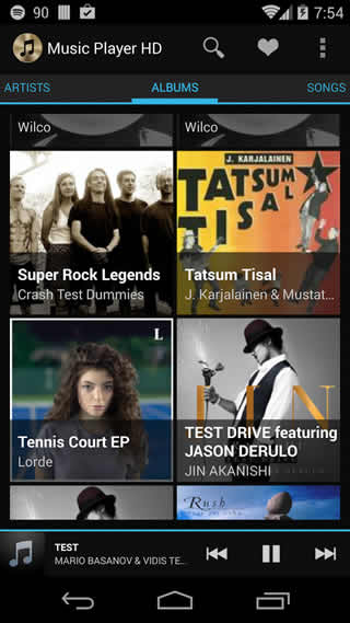 Music Player HD screenshot 1