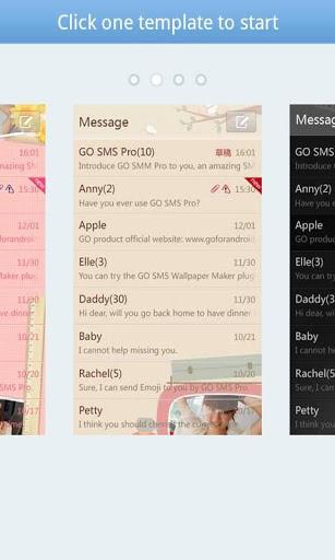 GO SMS Pro Theme Maker plug-in screenshot 2
