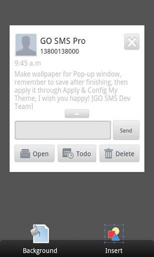 GO SMS Pro Theme Maker plug-in screenshot 4
