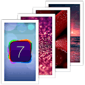 iPhone 5 iOS 7 Wallpapers HD icon