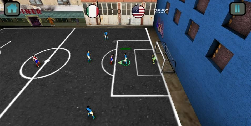 Soccer Match Competition 3D screenshot 4