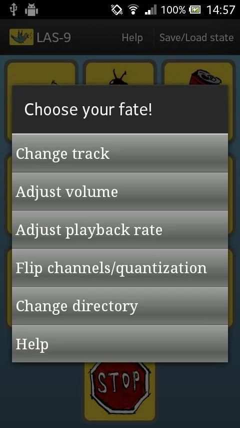 LAS-9 Music Looper/ Wav Mixer скриншот 1