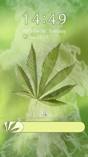 GO Locker Weed Ganja Theme screenshot 1