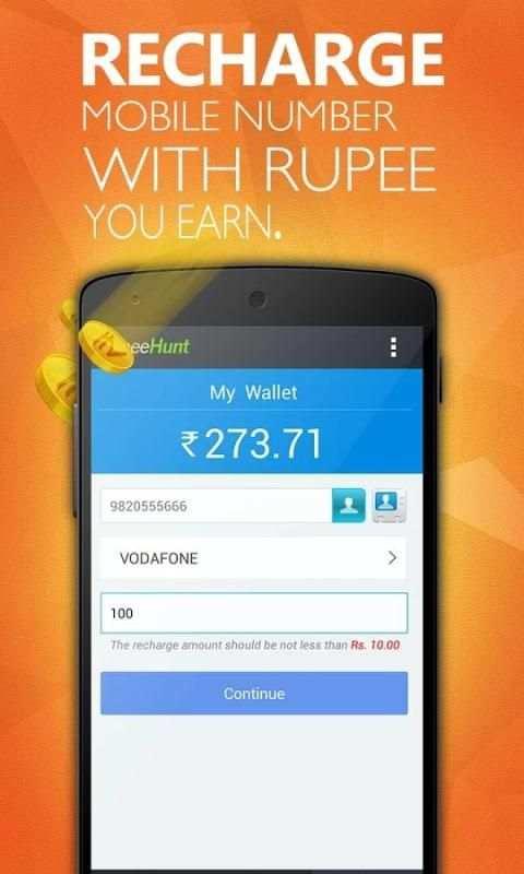RupeeHunt - Get Real Rupee screenshot 2