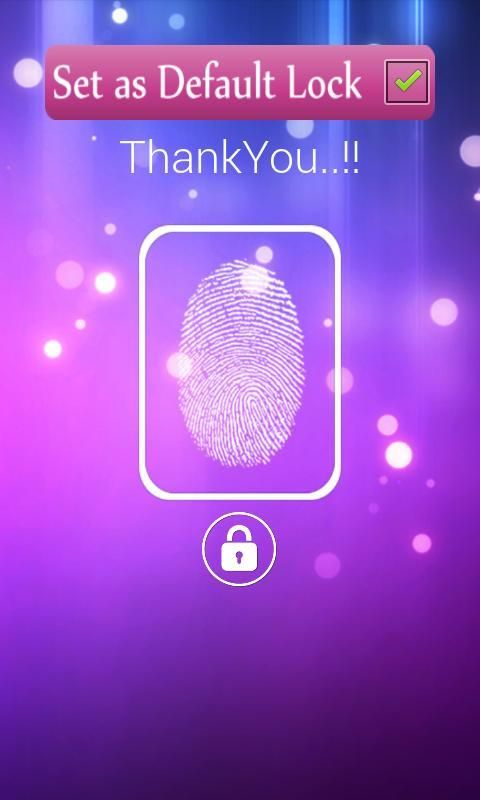 FingerPrint Prank ScreenLock screenshot 1