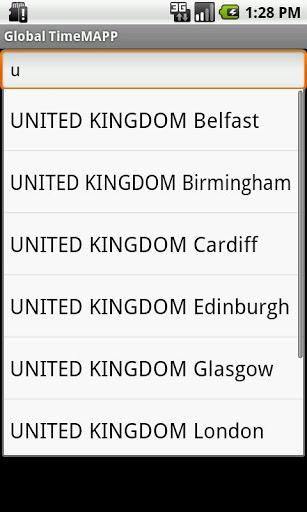 Global TimeMAPP screenshot 3