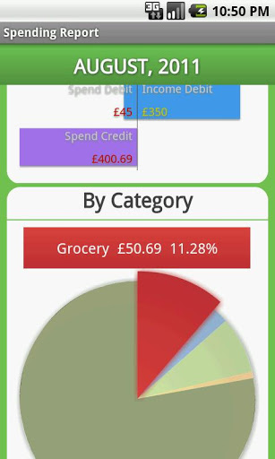 Pocket Budget Free screenshot 4