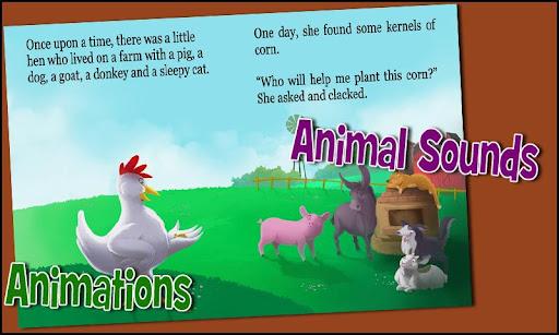 Childrens Story - Little Hen 2 تصوير الشاشة