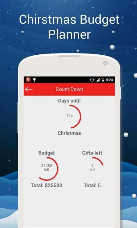 Christmas Budget Planner 2 تصوير الشاشة