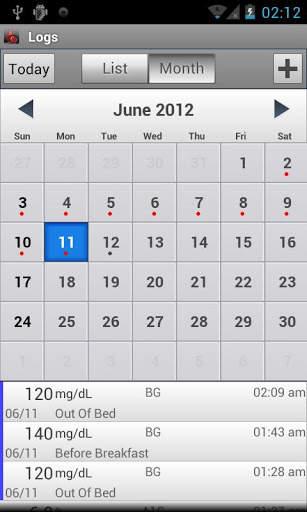 Glucose Buddy : Diabetes Log screenshot 5