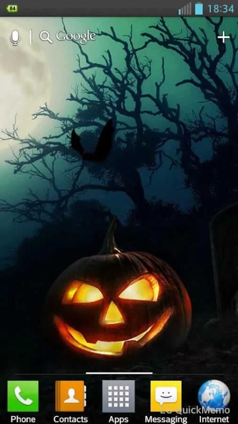 Halloween HD Live Wallpaper screenshot 1