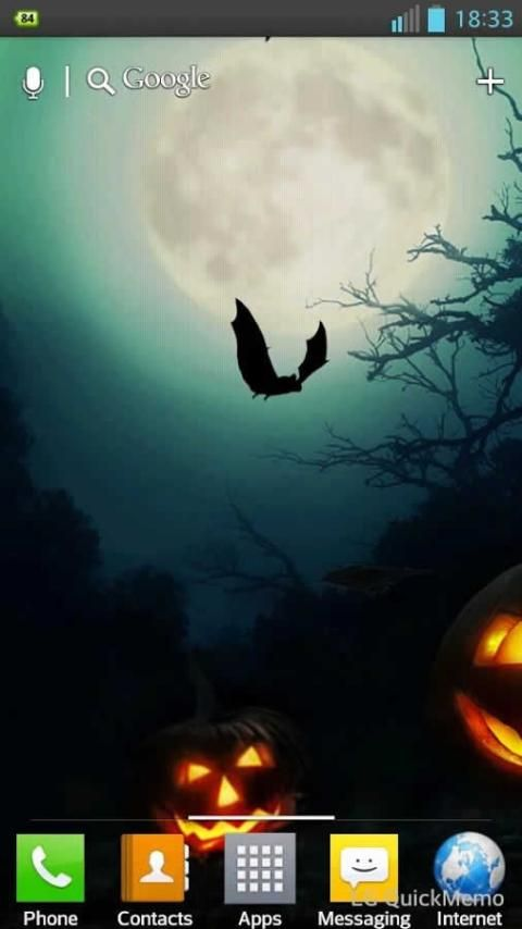 Halloween HD Live Wallpaper screenshot 2