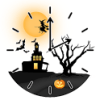 Halloween Clock icon
