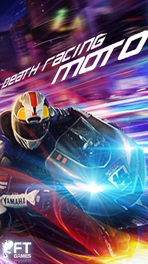 Death Racing:Moto 3 تصوير الشاشة