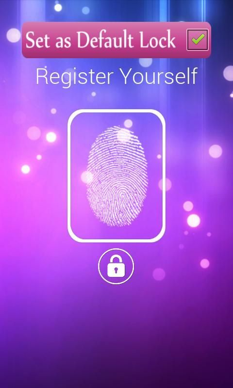 FingerPrint Prank ScreenLock screenshot 2