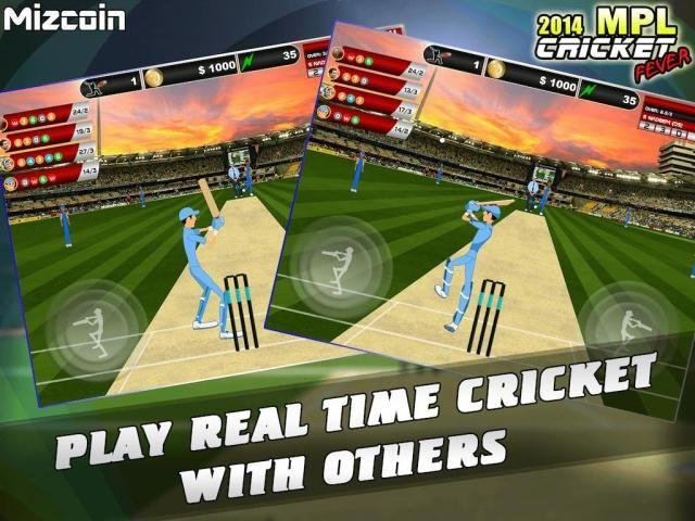 MPL Cricket Fever Game 2014 screenshot 7