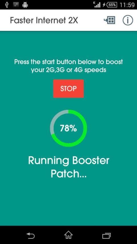 Faster Internet 2X screenshot 3