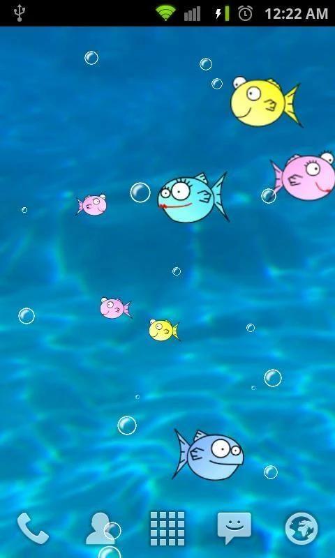 FishBowl Live Wallpaper screenshot 3