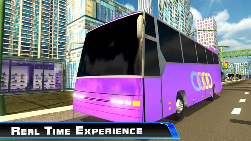 Modern City Tousrist Bus 3D screenshot 6