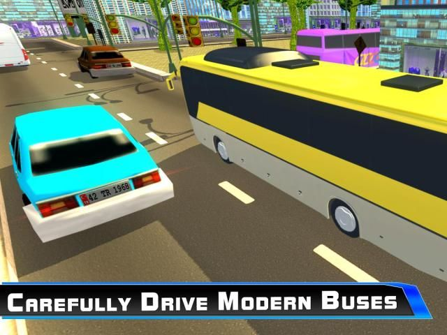 Modern City Tousrist Bus 3D screenshot 3