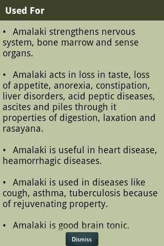 Ayurvedic Plants and Herbs screenshot 1