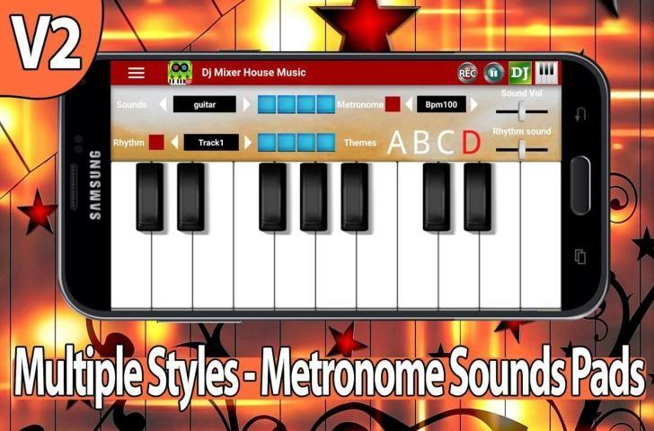 Dj Mixer House Music 1 تصوير الشاشة