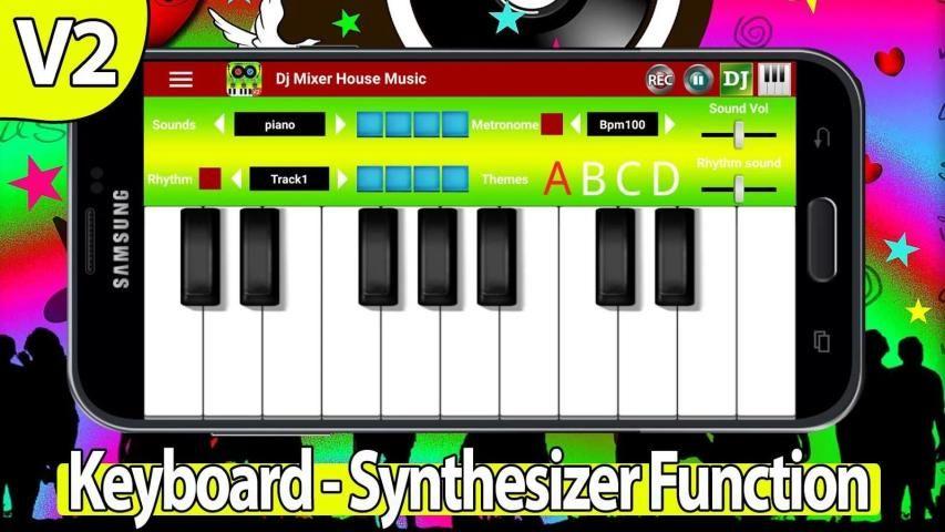 Dj Mixer House Music 7 تصوير الشاشة