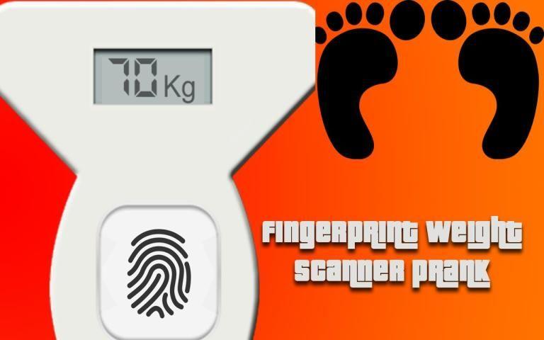 Weight Fingerprint Scanr Prank screenshot 1