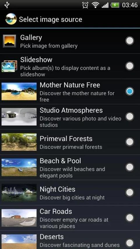 Photosphere HD Live Wallpaper 6 تصوير الشاشة
