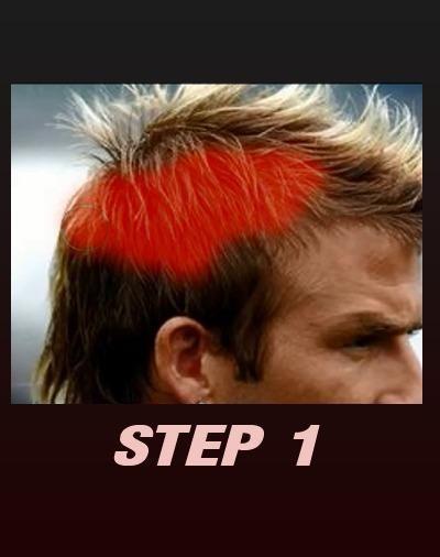 Changing Hair Color Photo screenshot 4