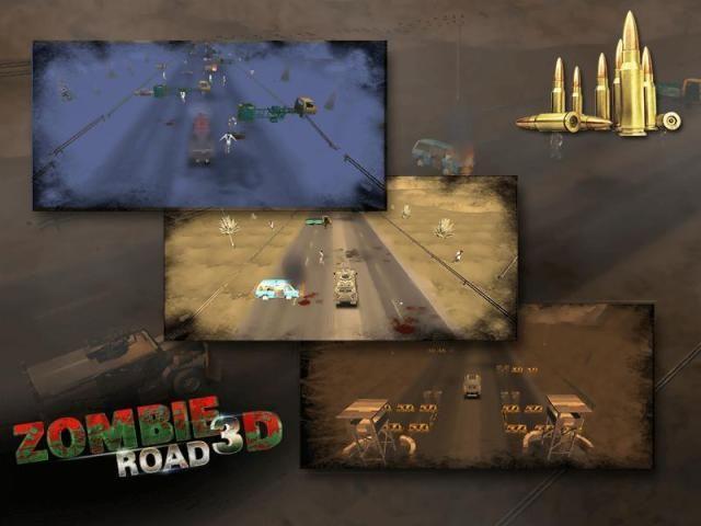 Zombie Road 3D 2 تصوير الشاشة