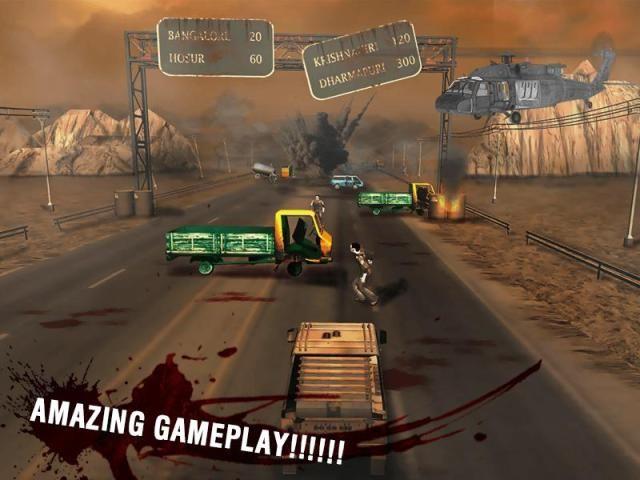 Zombie Road 3D 7 تصوير الشاشة