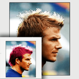 Changing Hair Color Photo icon
