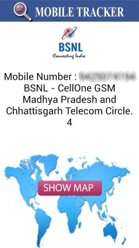 Mobile Number Locator screenshot 2