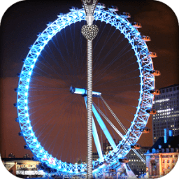 London Eye zipper lock أيقونة