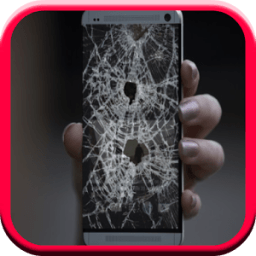 Cracked Screen Prank أيقونة