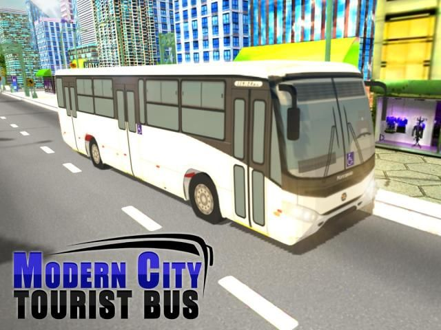Modern City Tousrist Bus 3D screenshot 5