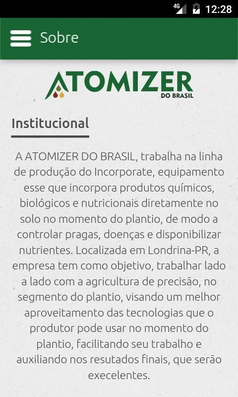 Atomizer do Brasil screenshot 6