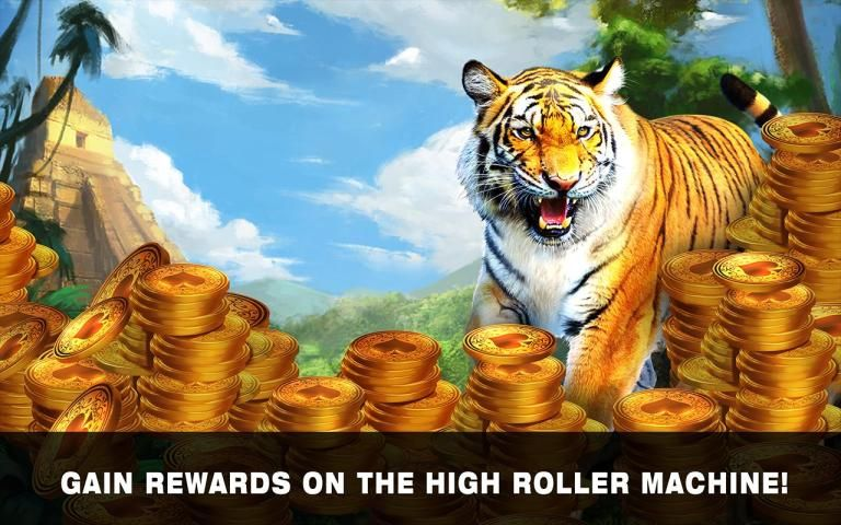 Slots Tiger King Casino Slots 1 تصوير الشاشة