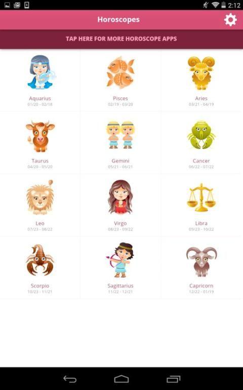 Horoscopes screenshot 3