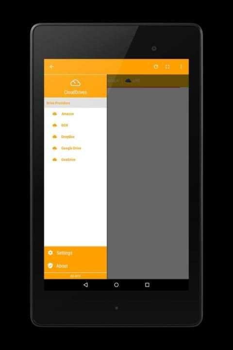 Cloud Drives screenshot 2