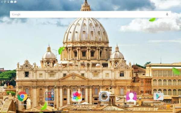 Rome Live Wallpaper screenshot 1