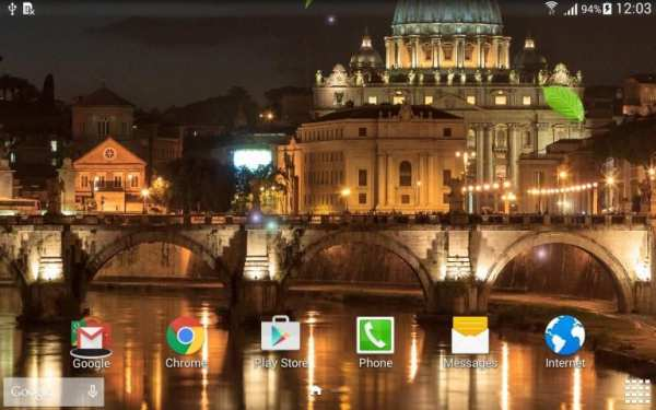 Rome Live Wallpaper screenshot 4