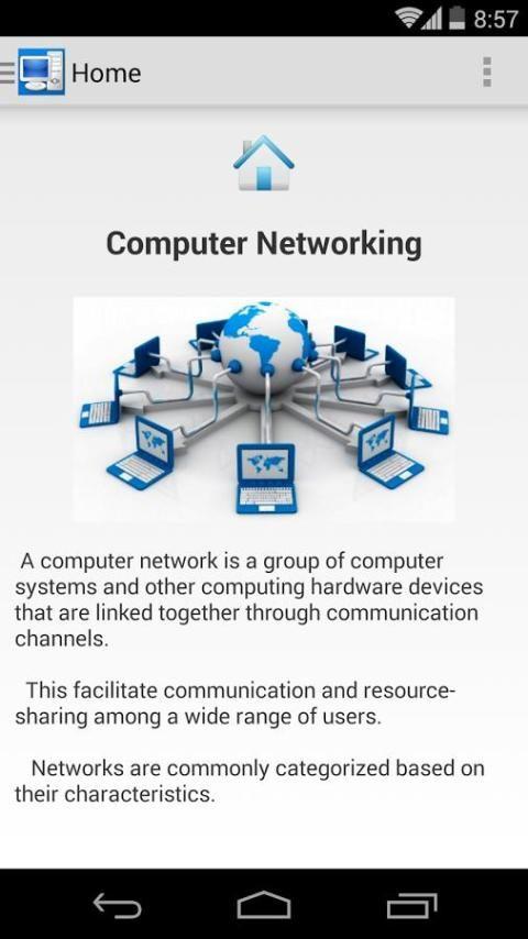 Computer Networking Concepts 5 تصوير الشاشة