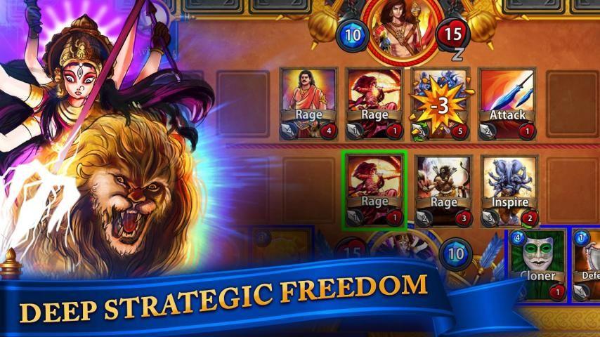CCG BattleGods 3 تصوير الشاشة