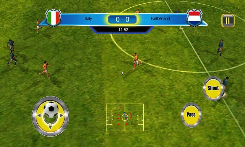 Soccer World Cup 2014 स्क्रीनशॉट 1