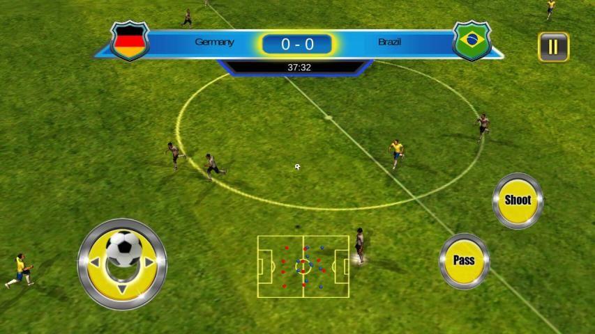 Soccer World Cup 2014 स्क्रीनशॉट 9