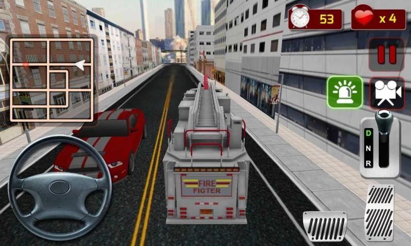 फायर फाइटर ट्रक सिम्युलेटर स्क्रीनशॉट 6