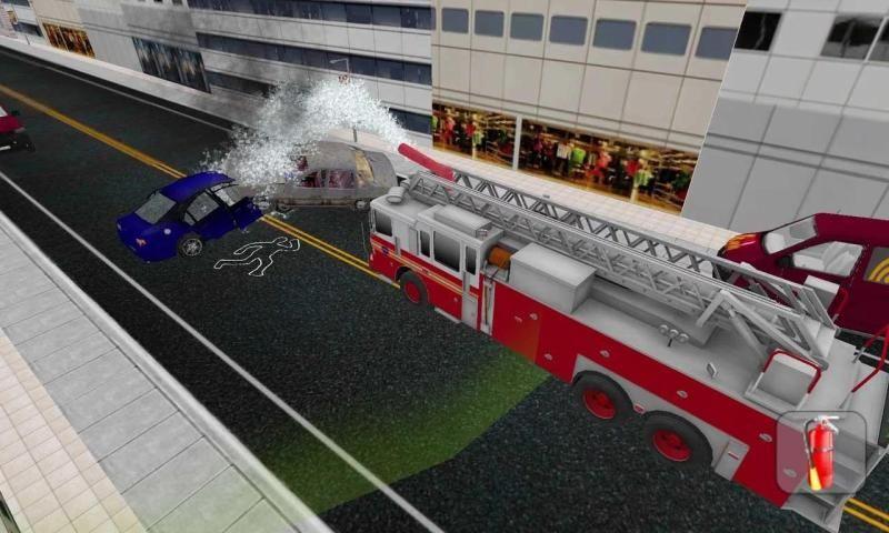 Firefighter Truck Simulator 3D 5 تصوير الشاشة